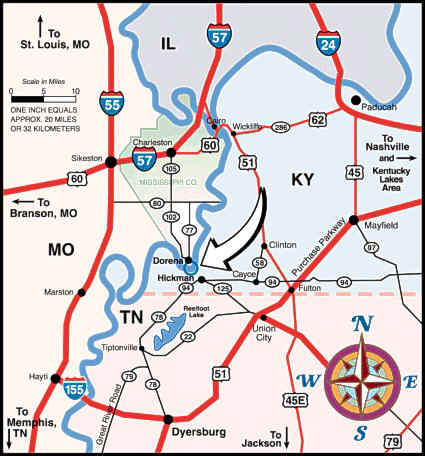 Reelfoot Lake Tennessee Map.Directions To Sportsman S Resort Reelfoot Lake Sportsman S Resort
